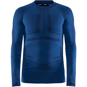 Craft Active Intensity T-shirt Manches longues Col ras-du-cou Homme, beat/blaze